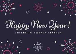 new year card templates canva