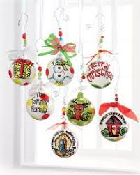 custom hand painted christmas ornaments with bulk order savings