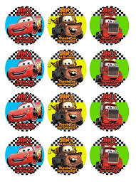 cars cake toppers disney cars cake toppers ithinkparty on artfire