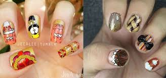 10 thanksgiving nail decals u0026 stickers 2016 fabulous nail art