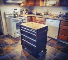 kitchen cabinet island ideas yes it is a tool box kitchen island ideas tool box island