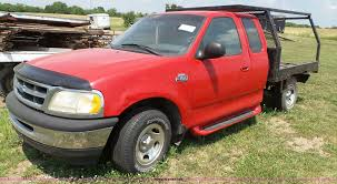 Ford F150 Truck 1997 - 1997 ford f150 xlt flatbed pickup truck item j4898 sold
