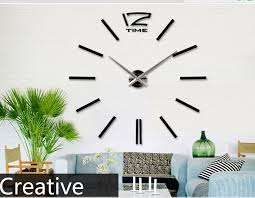 home decor clocks different types of wall clocks diy 3d wall clock home decor bell