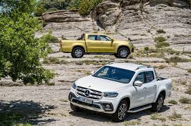mercedes truck mercedes x class gives workers adventurers and urbanites a