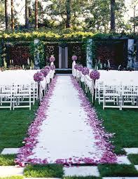 outside wedding decorations outdoor wedding aisle decorations weddingbee