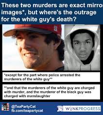 Trayvon Meme - glenn beck the chris lane murder is just like the trayvon martin
