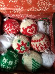 home ec workshop knitting ornaments