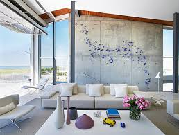 metal wall design modern living metal wall for modern living room style and butterfly blue
