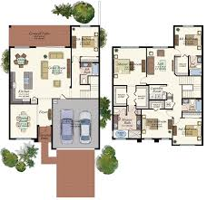 Florida Home Floor Plans Capri Plan Tuscany In Delray Beach Florida
