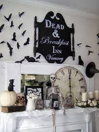 excellent mantel halloween decoration integrates charming floating