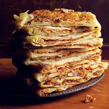 cuisine cepes mahjouba algerian crêpes snacks carrots and