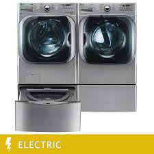 Pedestal Washing Machine Lg Twin Wash 5 2cuft Mega Capacity Washer With Turbowash