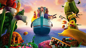 cloudy world wallpapers cloudy with a chance of meatballs 2 revenge of the leftovers 4k