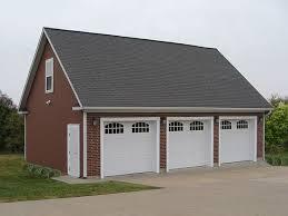 3 Car Garage Plans 009g 0011 Three Car Garage Plan With Loft 3 Car Garage Plans