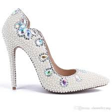 wedding shoes melbourne 2018 high heels white wedding shoes with and pearls