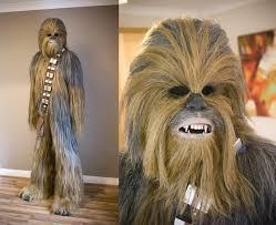 Wookie Halloween Costume Custom Chewbacca Costume Amazing Lead Bigfoot