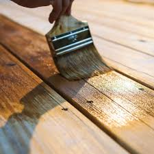 how many coats of stain should i use on my deck