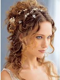 wedding curly hairstyle for long hair popular long hairstyle idea