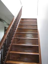 old house staircase styles oak attic stairs ladder pull down