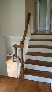 Replacing A Banister And Spindles Bucks County Hardwood Floorinstallation Refinishing Stairwork