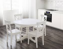 white round dining room tables round dining table white