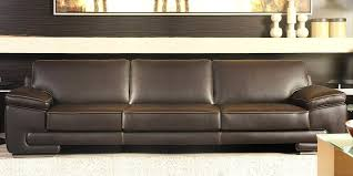 Italian Leather Sofa Bilbao By Calia Maddalena - 4 seat leather sofa