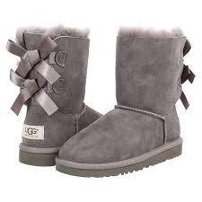 womens ugg boots grey womens ugg australia bailey bow boots twinface sheepskin 1002954