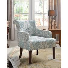 Teal Accent Chair by 589 Fabric Accent Chair In Teal And Light Blue By Best Master