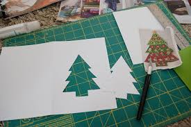 handmade christmas cards from recycled magazines merriment design