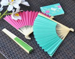 held paper fans craft tools and diy curated by buffalo weddings on etsy