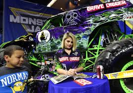 grave digger monster truck merchandise monster jam fans party in the pits local qconline com
