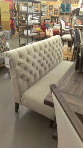 High Back Tufted Loveseat Dining Upholstered Storage Bench Tufted Banquette Bench