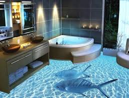tile floor designs for bathrooms 13 3d bathroom floor designs that will mess with your mind
