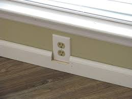 how can i trim around an electrical outlet home improvement