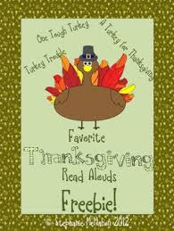 thanksgiving read alouds freebie pack turkey books pdf and