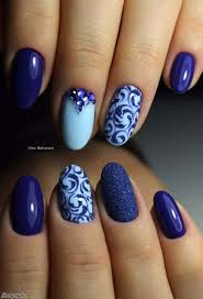 Pic Of Nail Art Designs Best 25 Blue Nails Ideas On Pinterest Royal Blue Nails Essie
