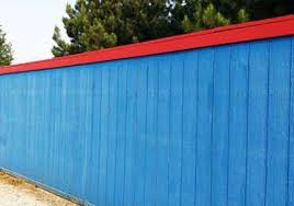 solid color paint coating for exterior wood siding fence shingle board