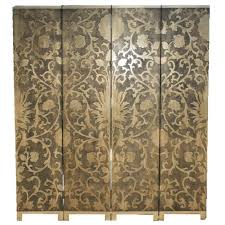 Gold Room Divider by Oriental Room Divider Screen