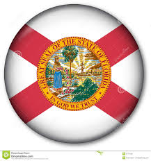Florida Flag History Florida State Flag Button Stock Illustration Image Of Miami 6774130