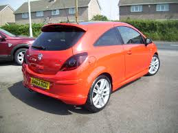 Used Vauxhall Corsa Sri 1 4 Red 1 4 Hatchback Bridgend Wales