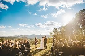 wedding venues in asheville nc wedding at the ridge asheville marshall carolina