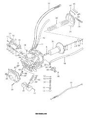 1999 suzuki vs800gl intruder carburetor front parts best oem