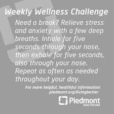 Challenge Through Your Nose 21 Best Weekly Wellness Challenge Images On Wellness