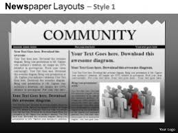 newspaper theme for ppt news powerpoint templates news presentation slides ppt