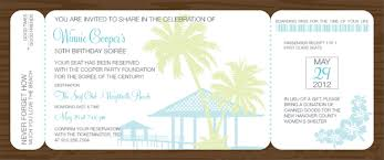 boarding pass invitations tropical boarding pass invitations by noteworthy collections