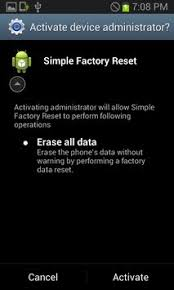 factory reset android free simple factory reset apk free tools app for