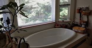 Bathtub In A Shower Design For Turning A Tub In A Bay Window Into A Shower Hometalk