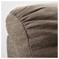 High Back Settee With Arms Tidafors Sofa Dansbo Medium Brown Ikea