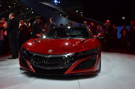 How Much Is The Acura Nsx 2016 Acura Nsx Debuts For Production Gas 2