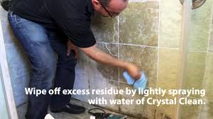 Best Thing To Clean Bathroom Tiles Stone Pro How To Remove Hard Water Spots In Showers Youtube